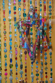 Natural Bamboo Beaded Door Curtain by Top 25 Best Hanging Door Beads Ideas On Pinterest Macrame