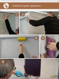 glasfasertapete tapezieren und streichen anleitung tipps
