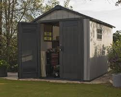 Suncast Tremont Shed Assembly by Keter Oakland 11 Ft 5 In W X 7 Ft 11 In D Plastic Storage Shed
