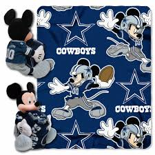 Dallas Cowboys Crib Bedding Set by Dallas Cowboys Nfl Mickey Hugger And Throw By The Northwest At
