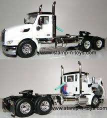 100 Diecast Promotions Trucks DCP 4181cab Peterbilt 579 Daycab StampnToys