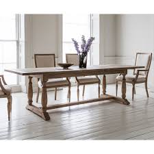 French Colonial Rectangular Extending Dining Set 6