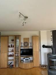 details zu wohnzimmer tv schrankwand buche vollholz massiv