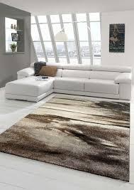 designer teppich wohnzimmerteppich kurzflor teppich natur