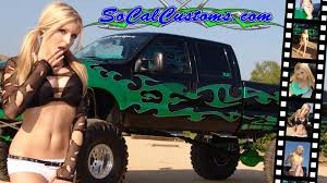 100 Girls On Trucks 52 Monster Wallpapers On WallpaperPlay