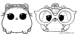 Free Printable Lol Surprise Pets Coloring Pages