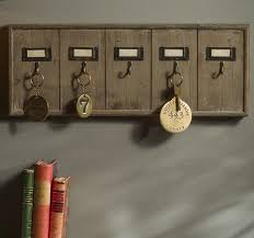 Rustic Key Hook Rack