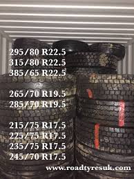 100 Used Truck Tires For Sale Truck Tyres For Export Quality Assured Tyres From The UK