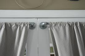Sidelight Curtain Rods Magnetic by French Door Curtain Rods Black Hanging French Door Curtain Rods In