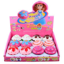 1pc Mini Cartoon Lovely Cupcake Princess Doll Transformed Beautiful Cute Cake Toy Girls Toys For