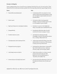 100 How To Write A Good Resume Job S Examples Lovely To For Job Unique