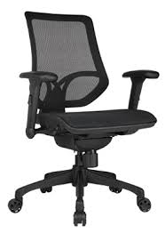 Office Chair With No Arms by Workpro 1000 Series Mid Back Mesh Task Chair Black By Office Depot