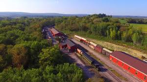 AERIAL VIEW OF THE MID-CONTINENT RAILWAY MUSEUM GROUNDS HD - YouTube September 2012 Thriftyrambler Explore The Things To Do Green County Tourism Irm Illinois Railway Museum Vintage Transportation Weekend 2017 The Toy Train Barn Part 1 Youtube Museums World With Milwaukee Lionel Railroad Club Open House Railfaninfo Take The A Train Toy Barn Argyle Wi