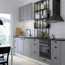 enhet küche anthrazit grau rahmen 323x63 5x241 cm