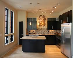 bedroom modern small kitchen with track lighting ideas and small