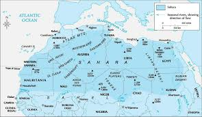 Covering About 3320000 Square Mile 8600000 Kilometer The Sahara Desert Is Roughly Size Of United States And Occupies Parts 11 North