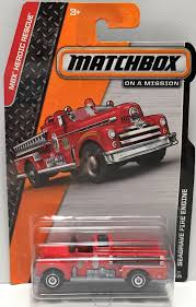 100 Matchbox Fire Trucks TAS033810 2013 Mattel On A Mission Car Seagrave