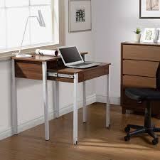 Furinno Simplistic Computer Desk by Techni Mobili Rta 1459 Compact Retractable Desk With Storage