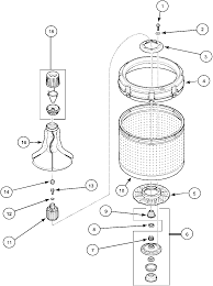 Tub Drain Assembly Diagram by Amana Lwa40aw2 Top Loading Washer Timer Stove Clocks And