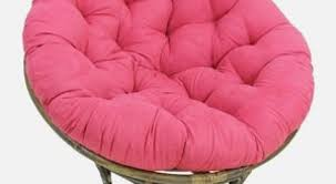 Unique Pink Papasan Chair