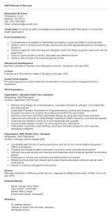 Pharmacy Assistant Resume Sample Australia Pharmacist Examples Format