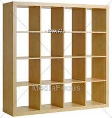stock photo square wooden shelves clipart image 53031005