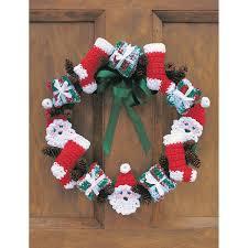 Free Pattern Lily Sugar N Cream Christmas Wreath Hobbycraft
