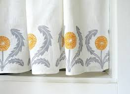 Yellow And White Curtains Canada by Astonishing Yellow Grey Curtains Full Size Of Interiors Brown And