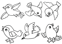 Value Bird Coloring Page Colouring Pages To Pretty For Birds Simple Nest