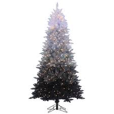 Sterling 7 1 2 Vintage Black Lighted Christmas Tree