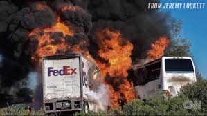 Investigators Reveal Timeline Of Deadly FedEx Truck Crash