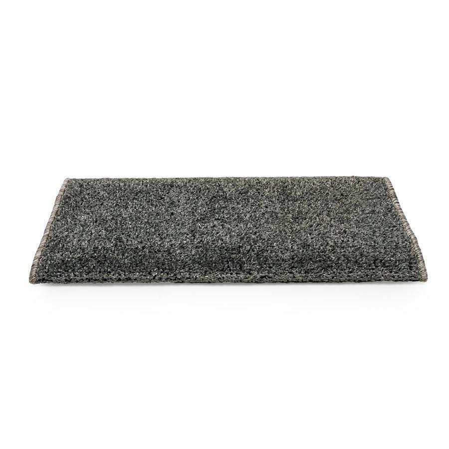 Camco 42945 Premium Wrap Around RV Step Rug, Turf Material (22 inch x 23 inch), Gray