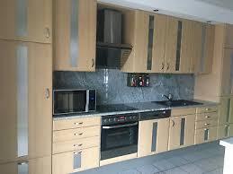 küchen gebraucht inkl e geräte und granitarbeitsplatte eur