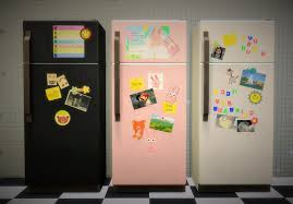 Its All About Clutter The Sticker Fridge Collection Download Sims 4