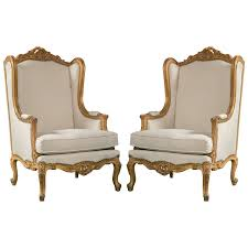 Pair Of French Louis XV Style Wingback Bergere Chairs At 1stdibs Fniture French Style Armchair Upholstered Chair Styles Bgere Antique Homesdirect365 Surprising Gray Chic Home Interior Design Ideas Baxton Studio Mckenzie Country Retro Modern Beige Pairs Of Chairs Painted Ding Leather 19th Century Roco Louis Xvi Xv Living Rooms Dark Brown Wooden Coffee Table Black Articles With Chaise Lounge Tag Smerizing Carved Wingback Circa Dove Grey Within
