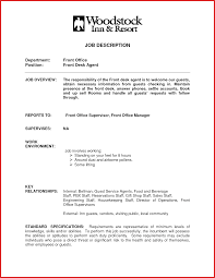 Hotel Front Office Manager Salary Nyc by Beaufiful El Desk Clerk Job Description Images Gallery