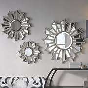 Decorative Wall Mirror Sets 5 Set Of 3 Sunburst Mirrors
