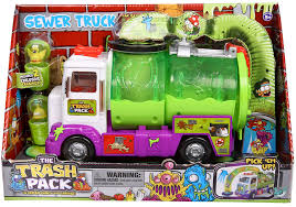 Amazon.com: Trash Pack Sewer Truck: Toys & Games