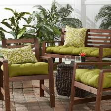 Wayfair Dining Room Chair Cushions by Amazon Com Greendale Home Fashions 51 Inch Indoor Outdoor Bench