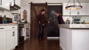 Sliding Barn Door - Lowe's Hypermade - YouTube Attractive Double Track Barn Door Hdware Interior Sliding Doors Horse With Bi Parting John Robinson House Decor Closet The Home Depot Best 25 Barn Doors Ideas On Pinterest Saves Up Space In How To Make Bitdigest Design Diy Christinas Adventures Double Sliding Door Hdware Kit Thrghout Why Can Even Be Flush With