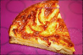 tarte sucree sans pate quiche sucrée sans pates aux pommes