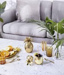 kleiner eiseimer pineapple in gold westwingnow