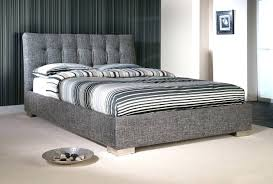 King Platform Bed With Upholstered Headboard by Upholstered Bed Frames King Upholstered Bed Frame And Headboard