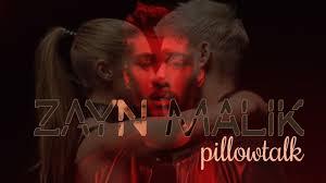 Zayn Malik – Pillowtalk – Song Lyrics