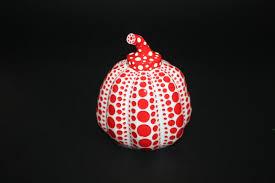 Yayoi Kusama Pumpkin Sculpture by Yayoi Kusama Pumpkin Red And Black For Sale Artspace