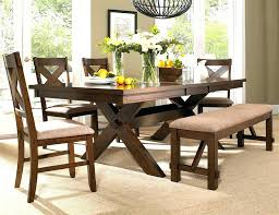Dining Table Bench With Back Corner Storage