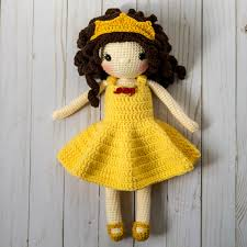Crochet Doll Pattern Amigurumi Doll Pattern Dolly Crochet Girl Etsy