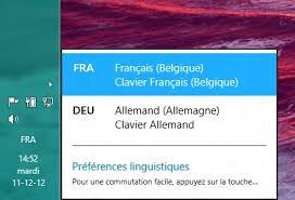bureau de change en anglais windows 8 changer la langue du système