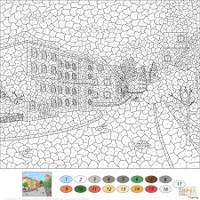 Immediately Difficult Color By Numbers Hard Number Coloring Pages Inside