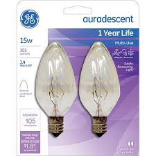 ge auradescent 15 watt tip 2 pack walmart